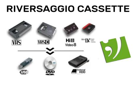 riversaggio cassette